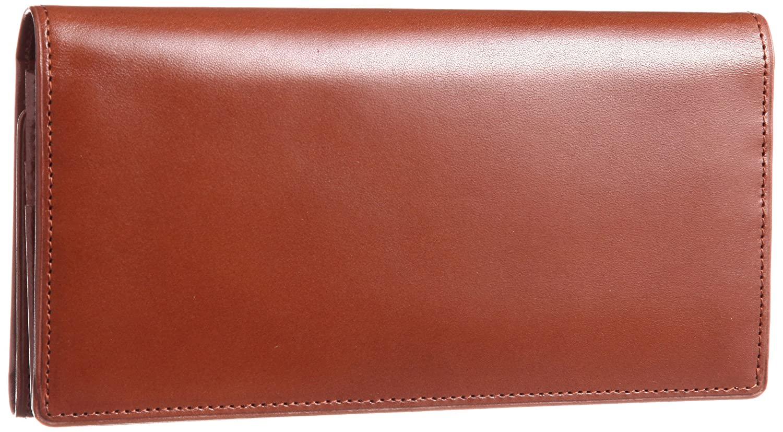 [コクホー] KOKUHO 日本製 最高級革ピットヌメ使用 三つ折り長財布 B006ZGSQBI ブラウン ブラウン