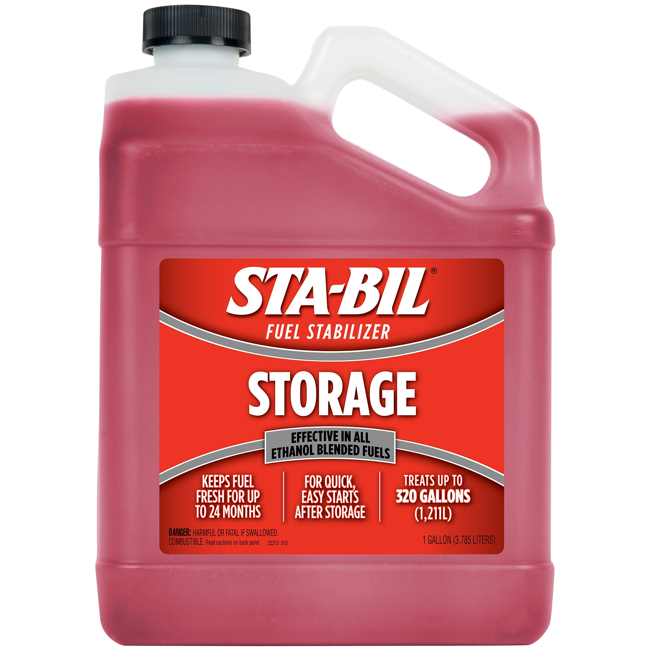 STA-BIL 22213 Fuel Stabilizer, 1 Gallon by STABIL