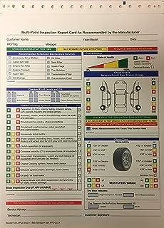 Amazon multi point inspection forms generic vehicle auto repair multi point inspection forms by a 2 part ncr quantity 1000 altavistaventures Images