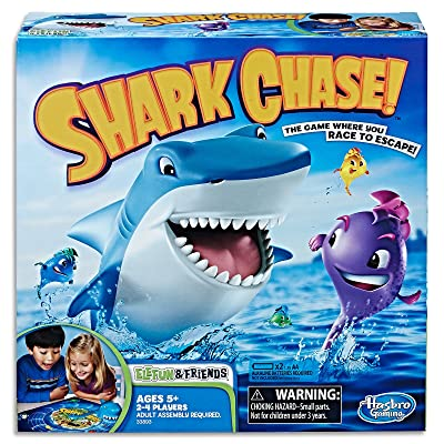 Elefun and Friends Shark Chase Game: Toys & Games