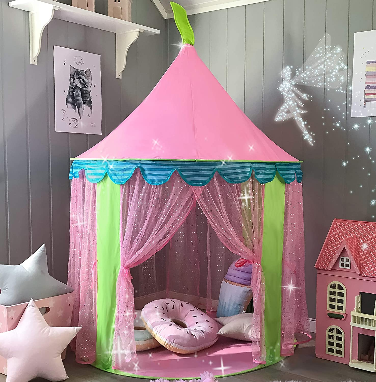 Tente de jeu château de princesse en promotion