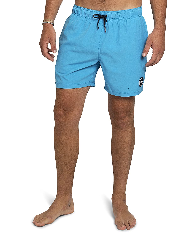 Kove Ziggy Swim Trunks Recylced Men's Quick Dry 4 Way Stretch 16 Swimsuit K-BS2-Small-Black
