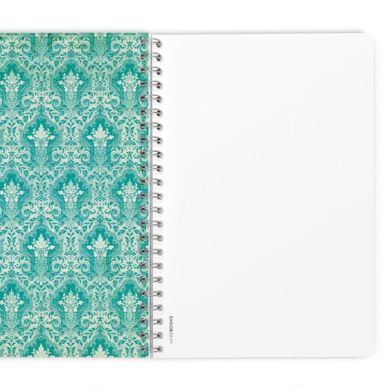 taccuino WIREBOOKS 5058 DIN A5 120 pagine 100g in carta a linee Bloc notes quaderno