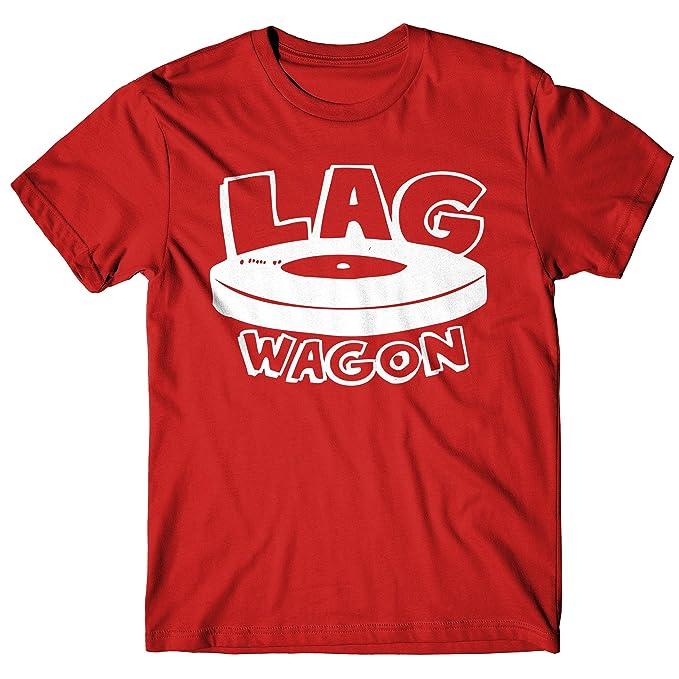 LaMAGLIERIA Camiseta Hombre Lagwagon Lg02 - Camiseta Punk Rock 100% Algodòn: Amazon.es: Ropa y accesorios