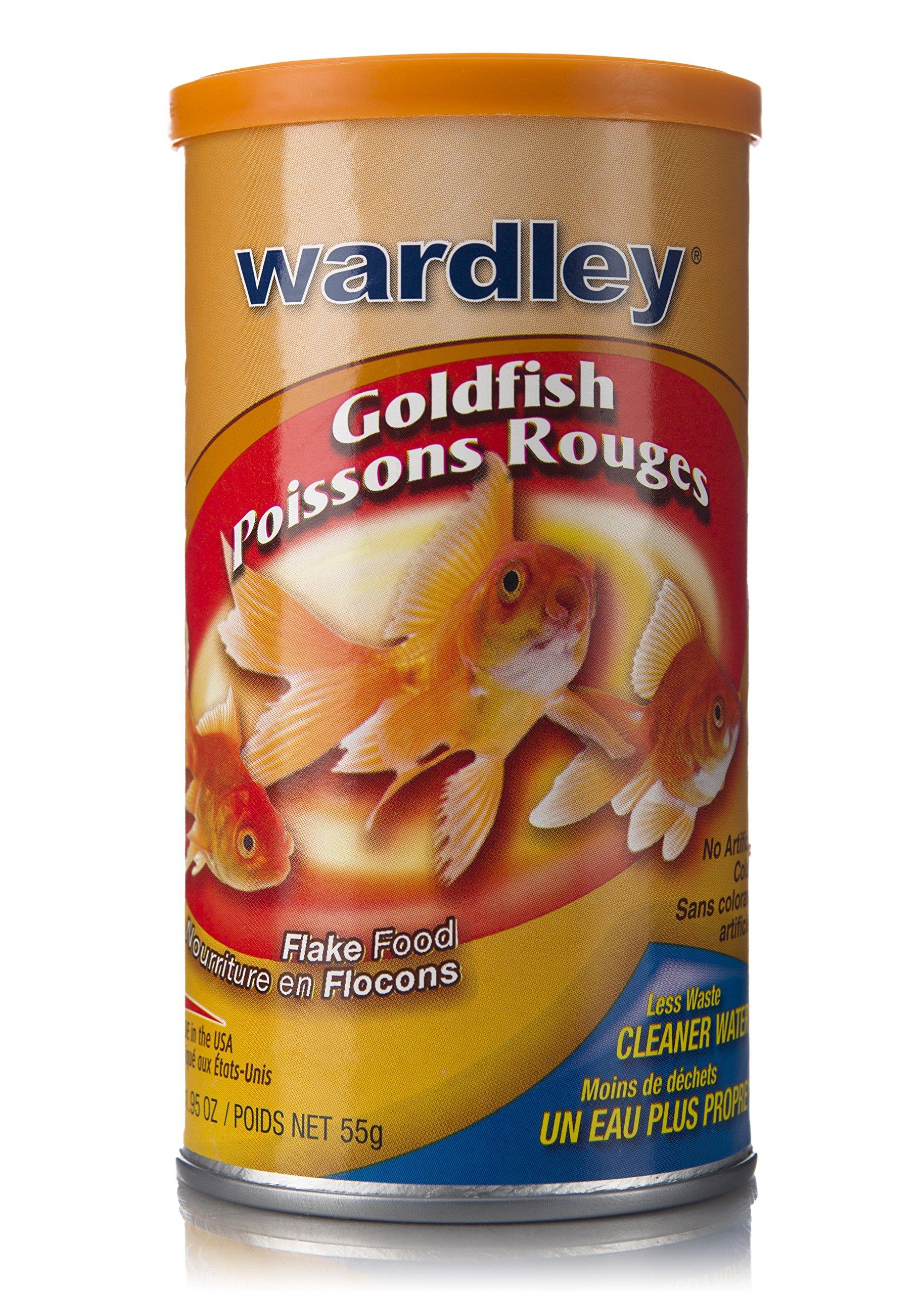 Wardley Premium Goldfish Food Flakes - 1.95oz