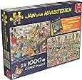 Jumbo - 619024 - 2 Puzzles - Jvh - Bonnes Vacances - 1000 Pièces