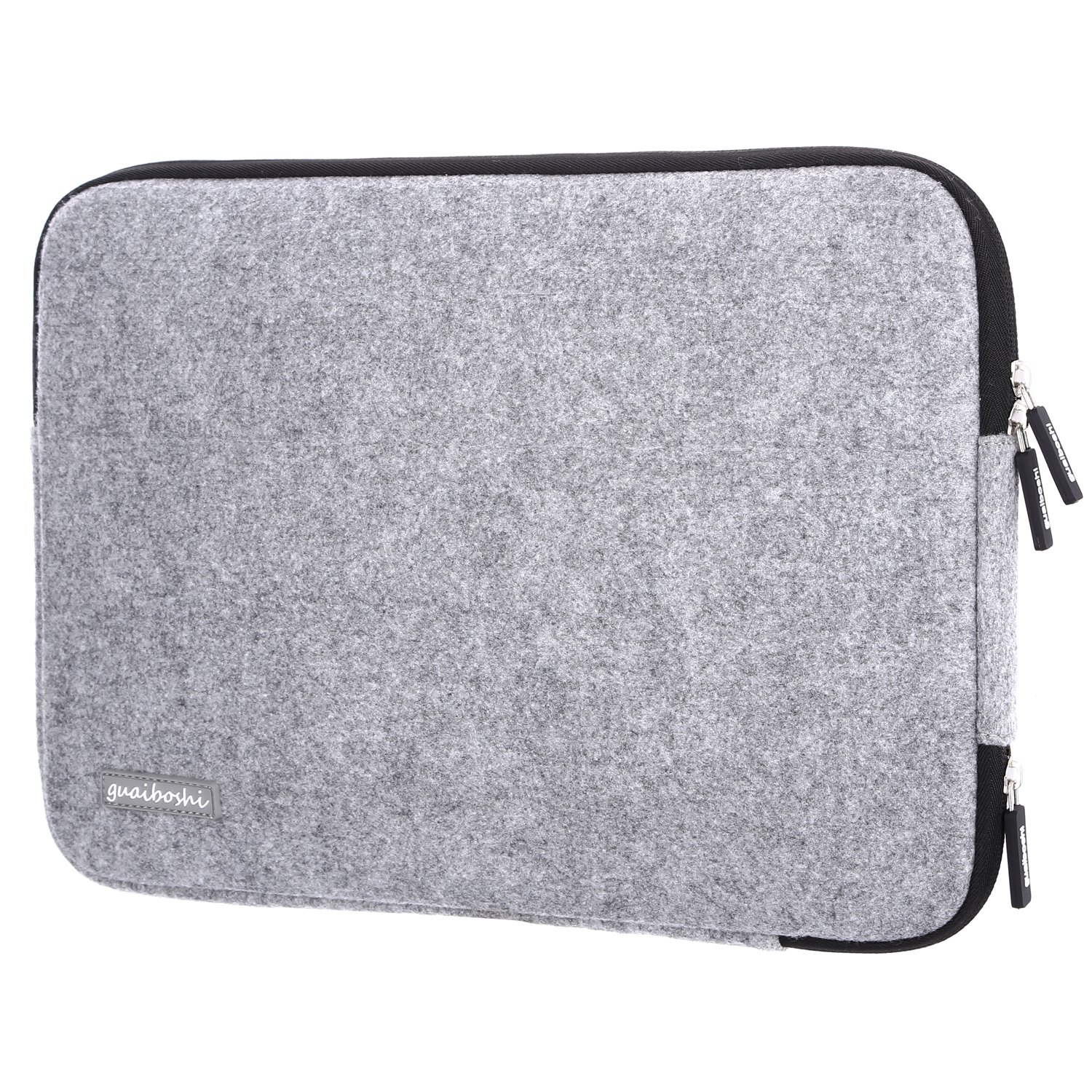 Guaiboshi Drop-proof Laptop Sleeve for 13 - 13.3 Inch MacBook Air | MacBook Pro Retina Late 2012 - Early 2016 | 12.9 Inch iPad Pro, 360° Protective Chromebook Tablet Case, Spill-Resistant, Gray CA-LaptopC-MZ01GY