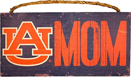 Fan Creations NCAA Clemson Tigers 12 Round Dads Garage Wood Sign