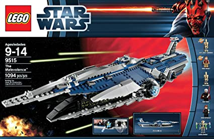 Amazoncom Lego Star Wars 9515 The Malevolence Discontinued By