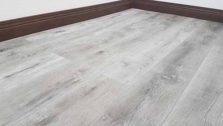 Choose from 2 Colors Sample, Ellsworth Rustic Sawn Hardwood-Look Floating Floor Turtle Bay Floors Waterproof Click WPC Flooring