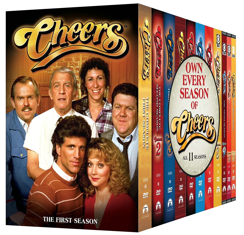 Amazon Cheers The Complete Series Ted Danson Rhea Perlman John Ratzenberger George Wendt Kelsey Grammer Woody Harrelson Kirstie Alley
