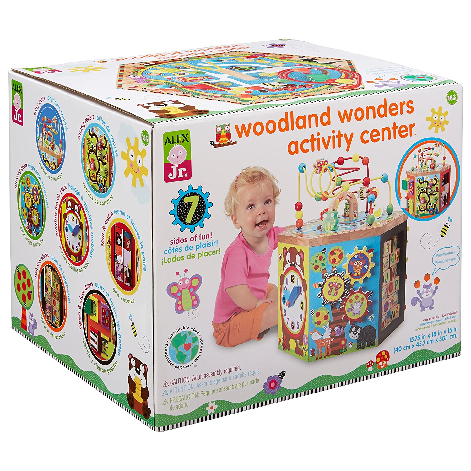 Amazon ALEX Jr Woodland Wonders Activity Center Toys & Games