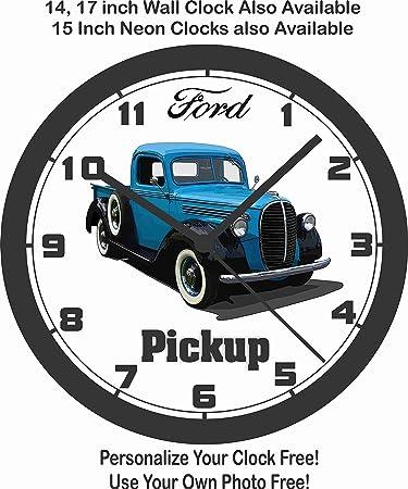Amazon Com 1938 1939 Ford Pickup Truck Wall Clock Free Usa Ship