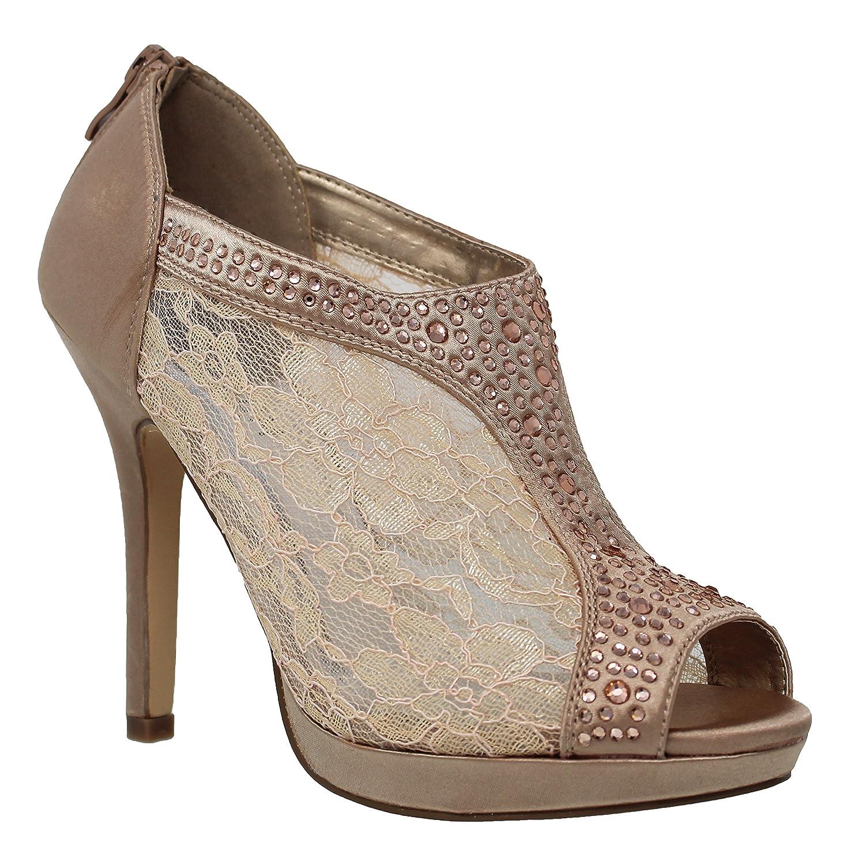 MVE Shoes レディース B079YWJH8W 5 B(M) US|Nude*y Nude*y 5 B(M) US