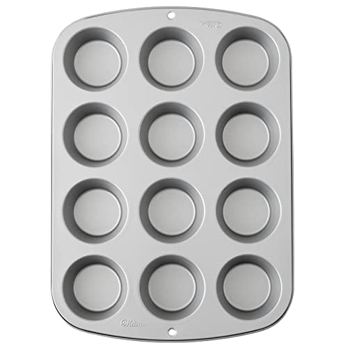 Wilton Recipe Right Muffin Pan., 12-Cup Non-Stick Muffin Pan 12