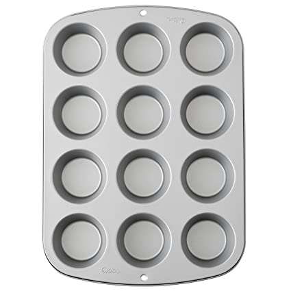 Wilton Recipe Ready 12 Cup Regular Muffin Pan