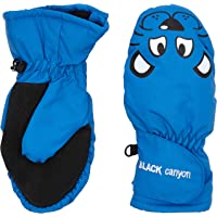 Black Canyon Children's - Guantes de esquí Infantil