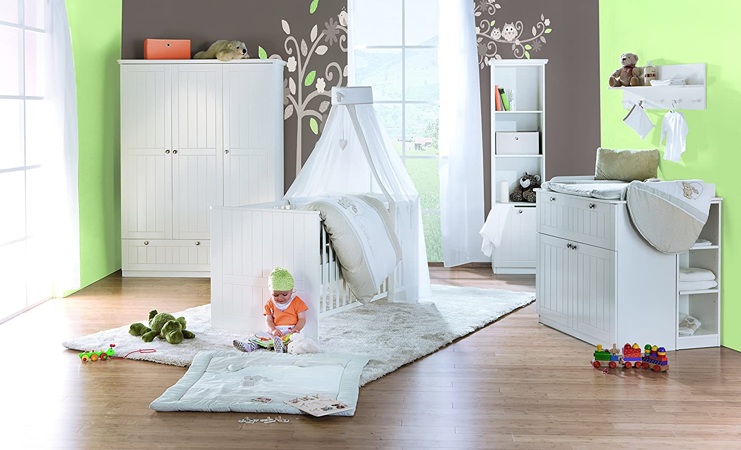 babybett zwillinge. Black Bedroom Furniture Sets. Home Design Ideas