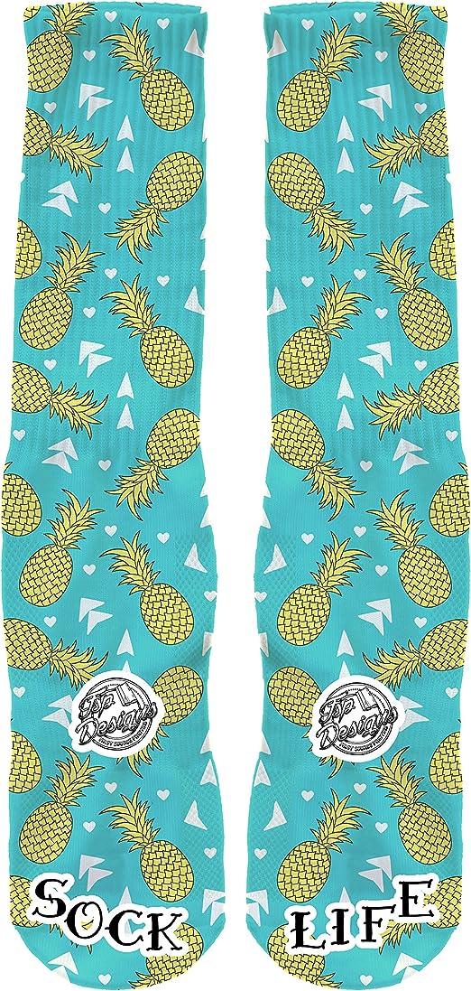 FSP Designs Pineapple Express Custom Performance Crew Socks