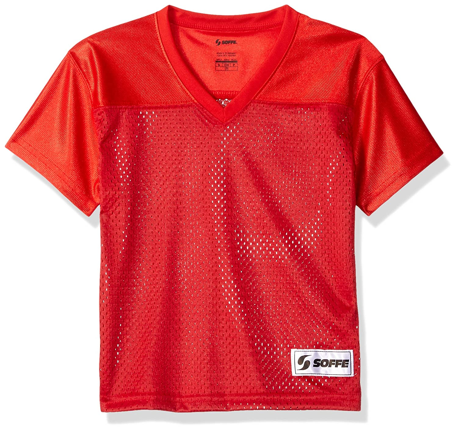 Soffe Girls' Big Football Jersey Soffe Children' s Apparel 4692G