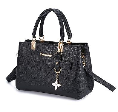 Clocolor Handbags for Women Designer Purses Ladies PU Leather Shoulder Bags  Satchel Tote Bag