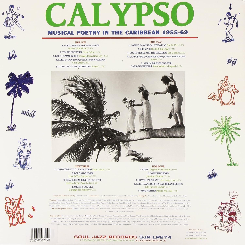 6c29c4d95cb Soul Jazz Records Presents - Calypso  Musical Poetry In The Caribbean  1955-69 (Vinyl) - Amazon.com Music