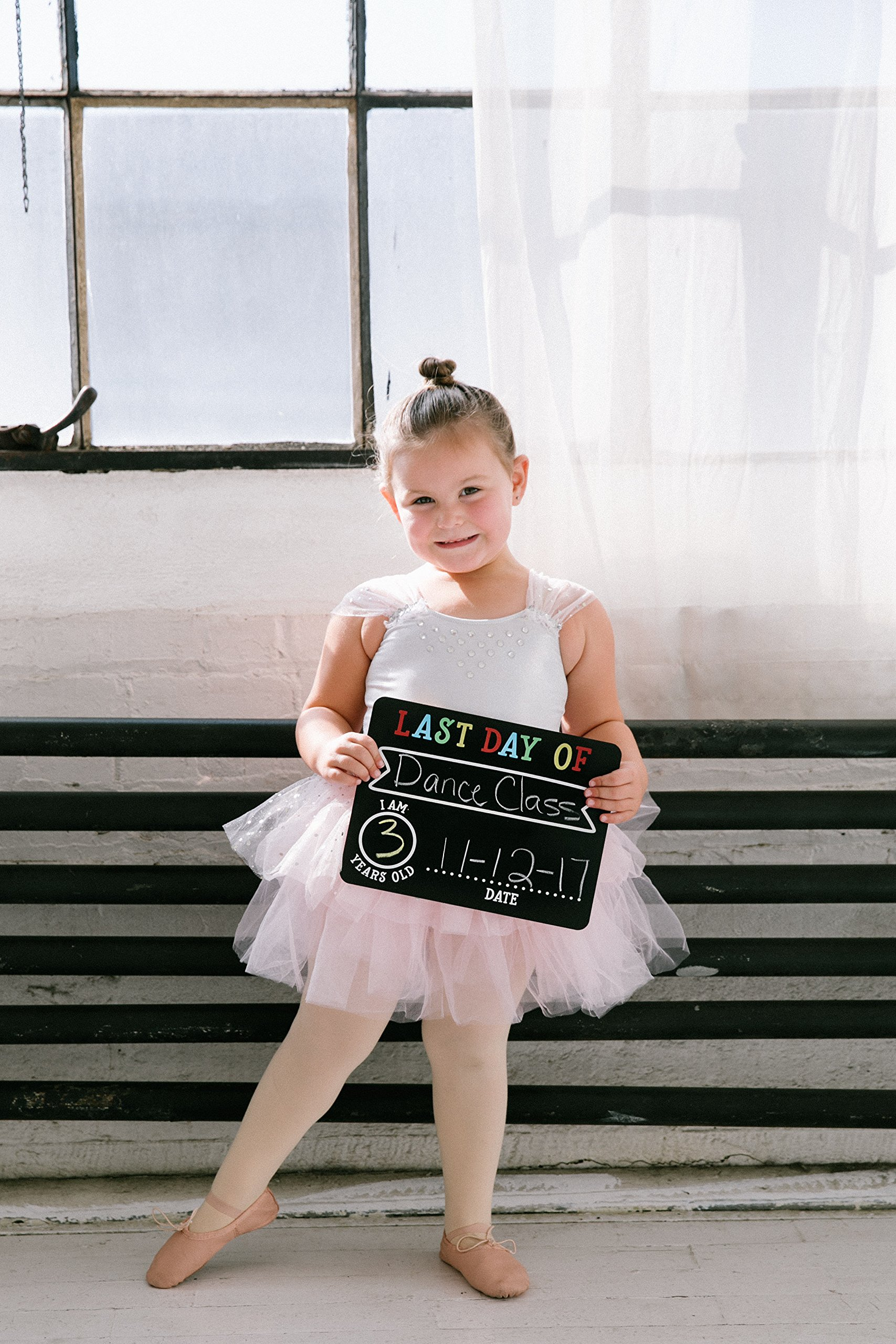 Pearhead First and Last Day of School Photo Sharing Chalkboard Signs; The Perfect Back to School Chalkboard Sign to Commemorate The First Day of School, Set of 2 by Pearhead (Image #8)