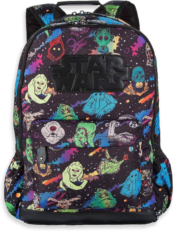 B07QJDB3TK Star Wars Character Print Backpack Multi 91PGh10QDXL