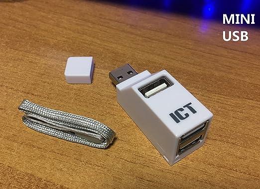 7 opinioni per ICT Direct Tower , USB 2.0 HUB 3 porte, Bianco