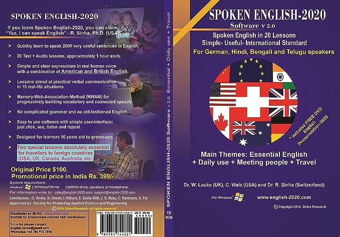Institute for Employment-Oriented Skill Development Spoken English - 2020  Software (DVD)