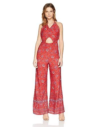 b1dddebf922 Amazon.com  MINKPINK Women s Lucia Halterneck Jumpsuit  Clothing