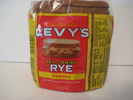 Levy's Real Jewish Rye Seeded Bread