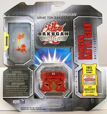Amazon.com: Bakugan Battle Gear - Battle Saber (Colors May ...