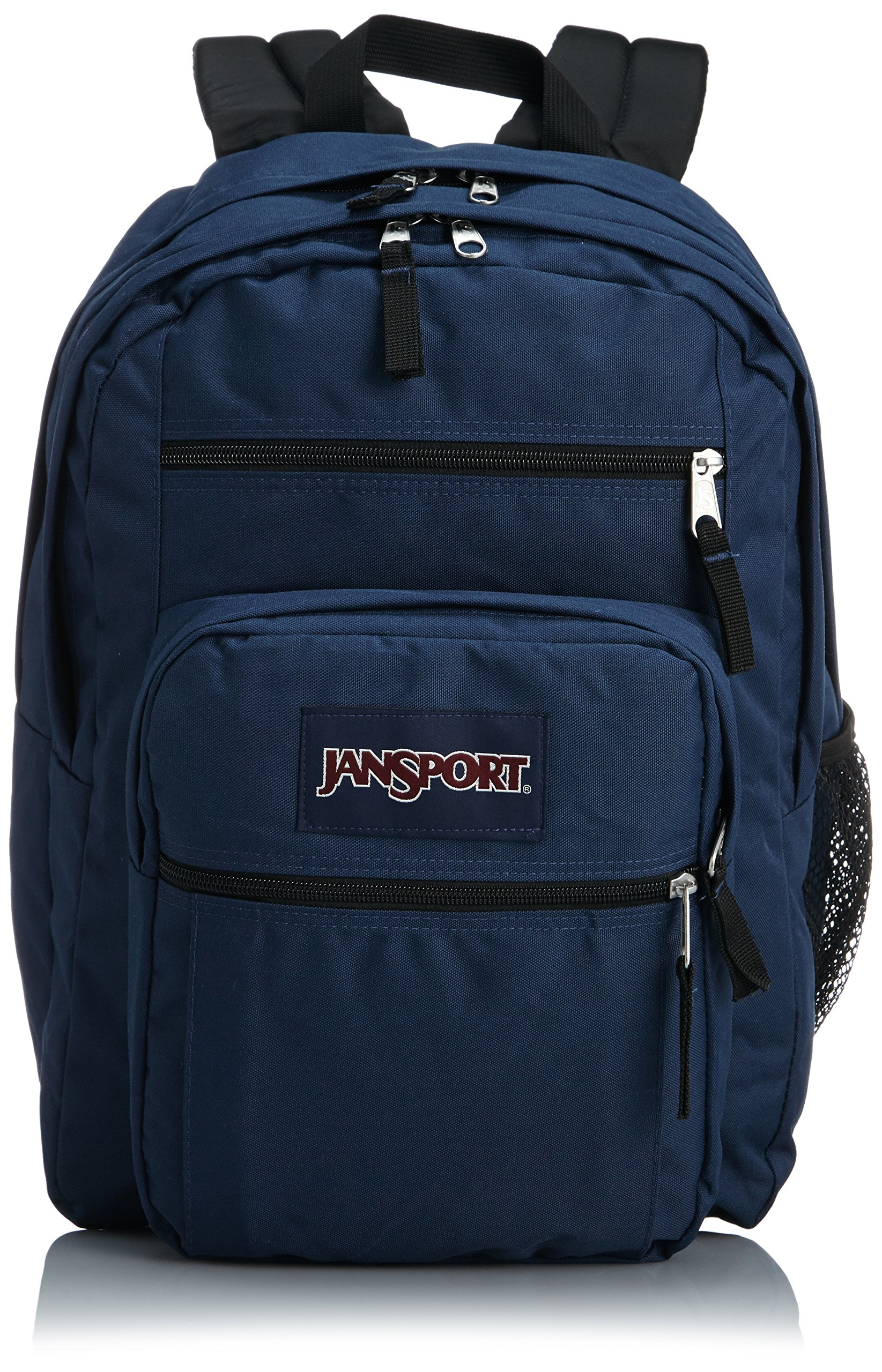 JanSport Big Student Classics Series Backpack - Navy by JanSport (Image #2)