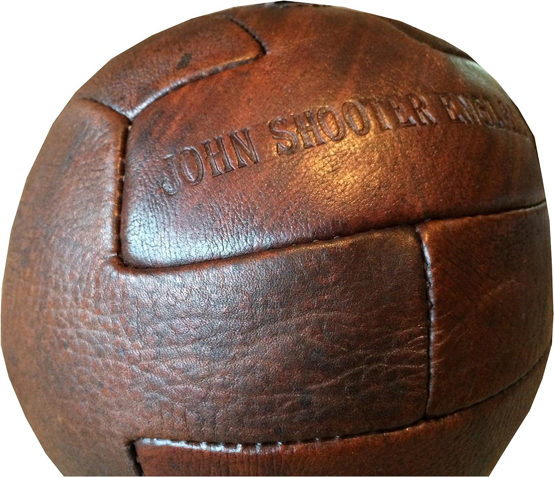 John Shooter Ltd - Balón de fútbol antiguo (piel): Amazon.es ...
