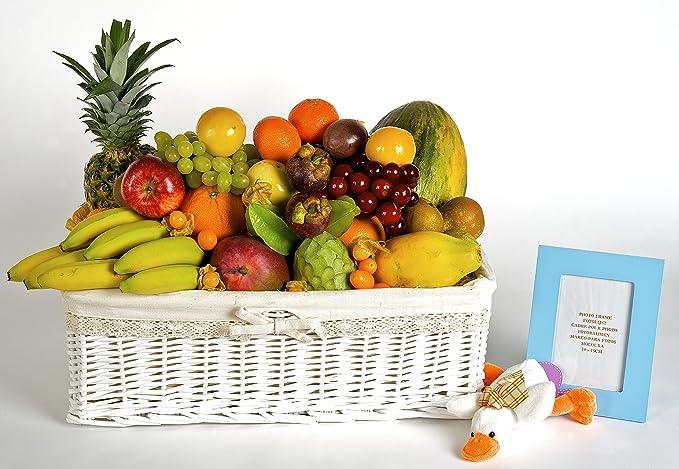 Regalos para hospitales: Cesta de Frutas Bambin@ - Envío a Domicilio: Amazon.es: Alimentación y bebidas