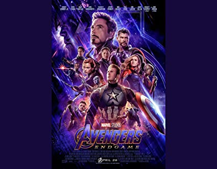 Amazon Com Printing Pira Avengers Endgame Official Poster 2019