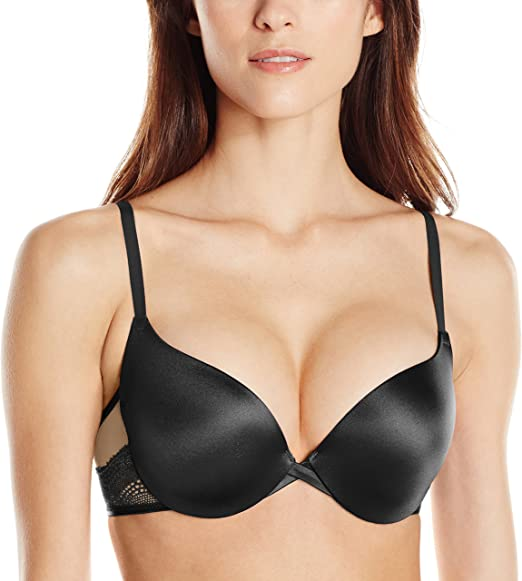 Maidenform Love the Lift Plunge Push-Up  In Lace Bra Women/'s