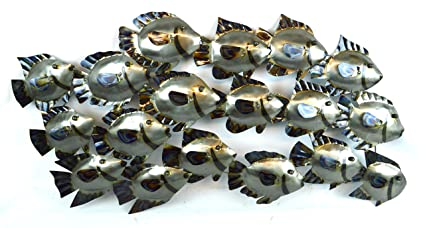 metal fish wall decorations