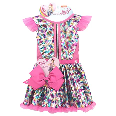 79ea3d5d6 Image Unavailable. Image not available for. Color: JoJo My World Dress