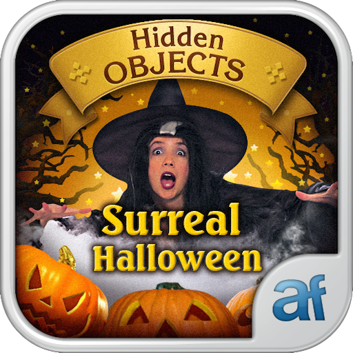 Hidden Objects Surreal Halloween & 3 puzzle (Halloween Search And Find Games)