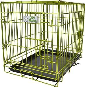 Green Jem Double Door Dog Crate