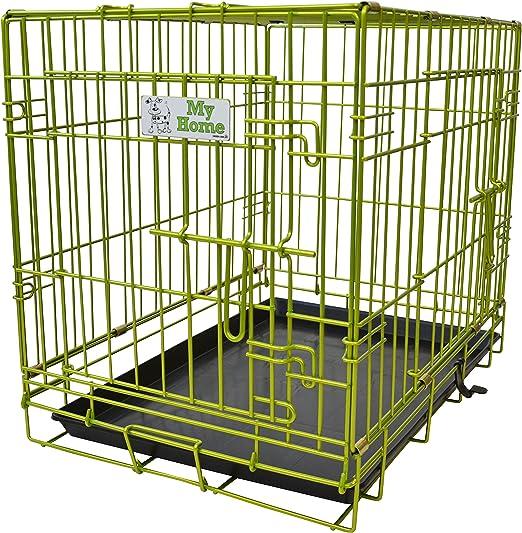 Green Jem - Caja para Perro (Doble Puerta), Color Verde: Amazon.es: Productos para mascotas