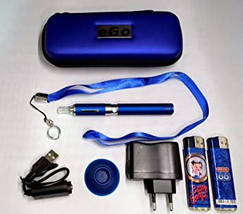Estuche, Kit completo:(vapeador) cigarrillo electrónico azul ...