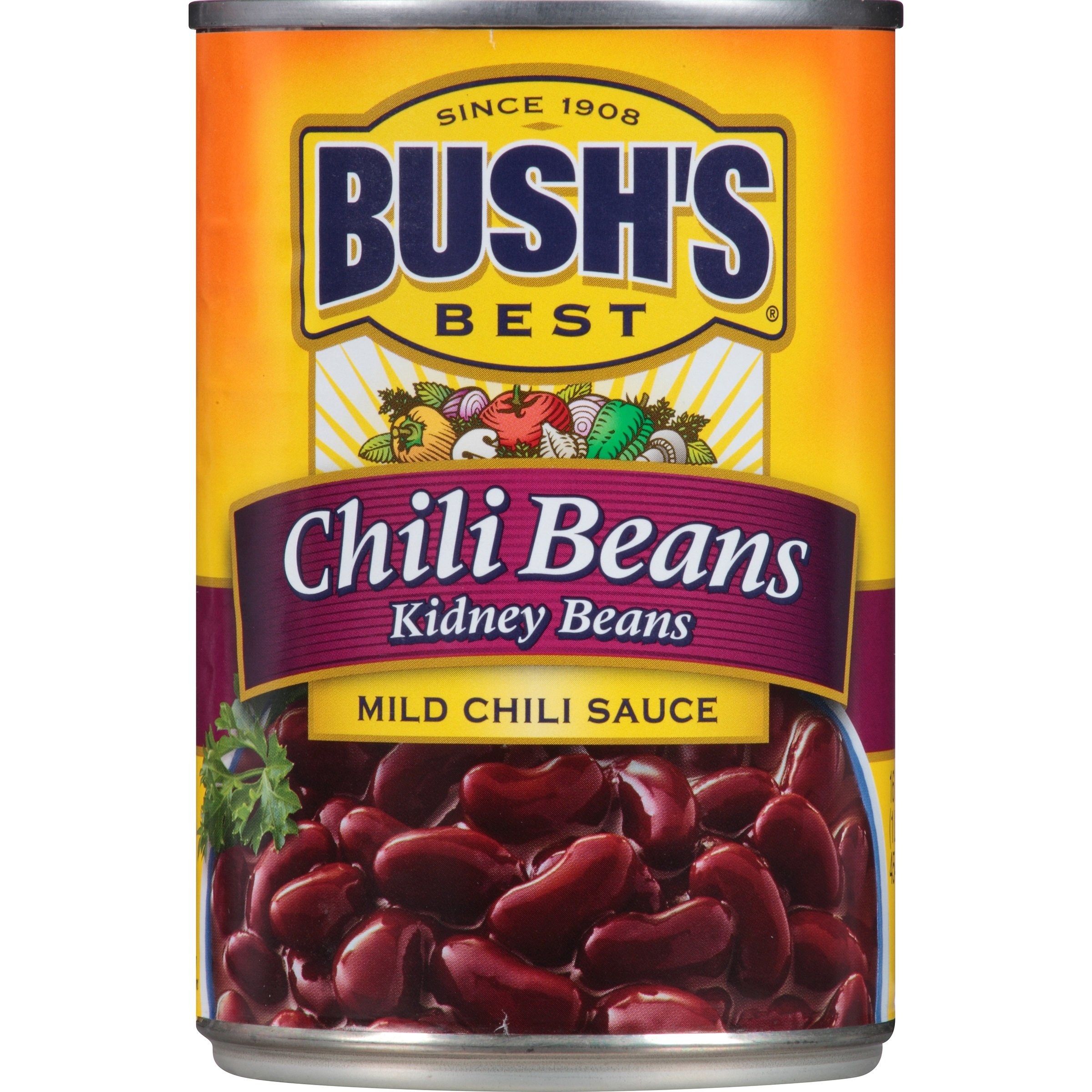 Bush's Best Mild Kidney Chili Beans, 16 oz