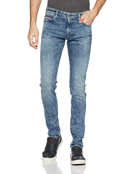 770be276 Tommy Hilfiger Men's Simon Dydbst Skinny Fit Jeans: Amazon.in: Clothing &  Accessories