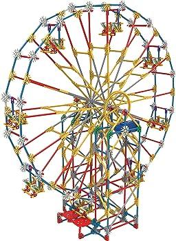744 Pieces K'nex Thrill Rides 3-In-1 Classic Amusement Park Building Set