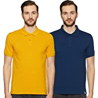 Amazon Brand - Symbol Men's Polo (Combo Pack of 2)