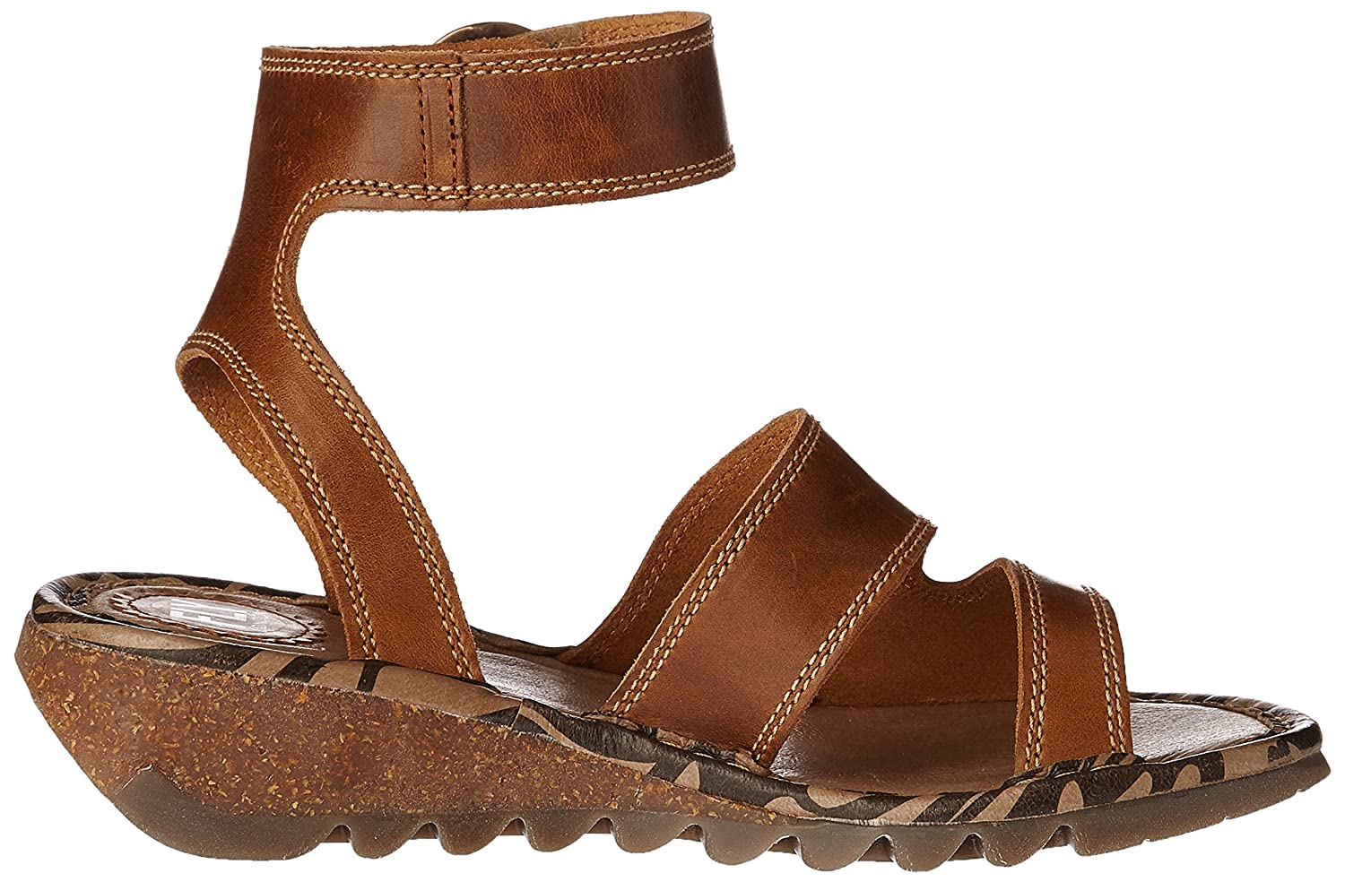 Fly London Womens Camel Tily722fly Wedge Bridle Sandals B01LX794E2 Wedge Tily722fly 20ccaf