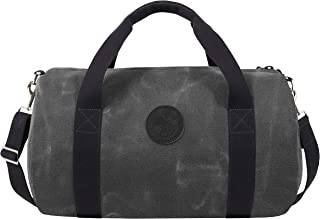 product image for Duluth Pack Round Duffel (Waxed Grey)